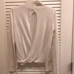 Zara backless sweater